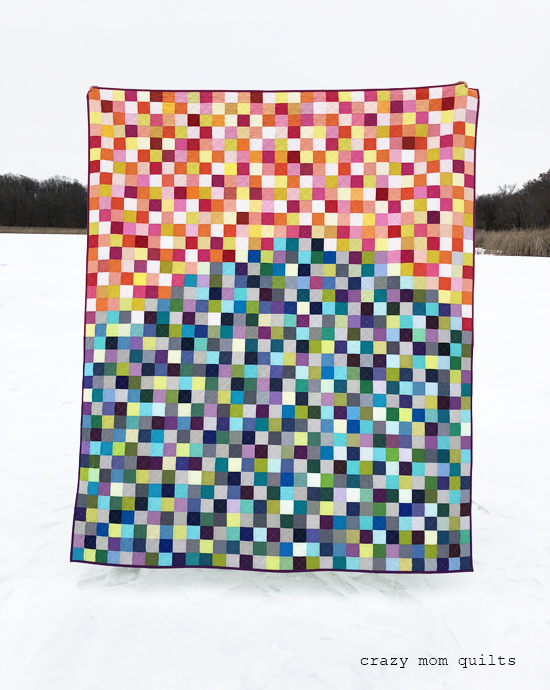 Crazy Mom Quilts abby's sunset quilt