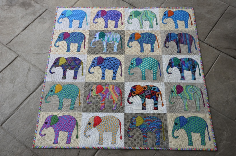 Mason's Elephants by Laundry Basket Quilts (2)