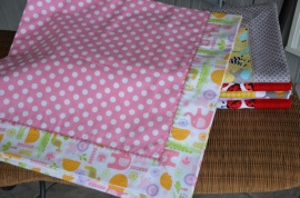 Flannel Recieving Blankets (4)