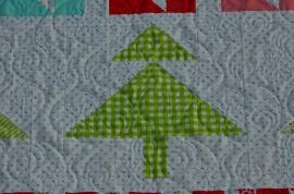 Margie's Moda Christmas Quilt (3)