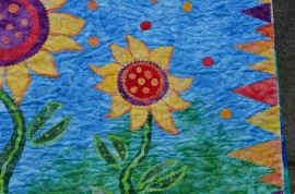 Teresa's Fused Sunflower (3)