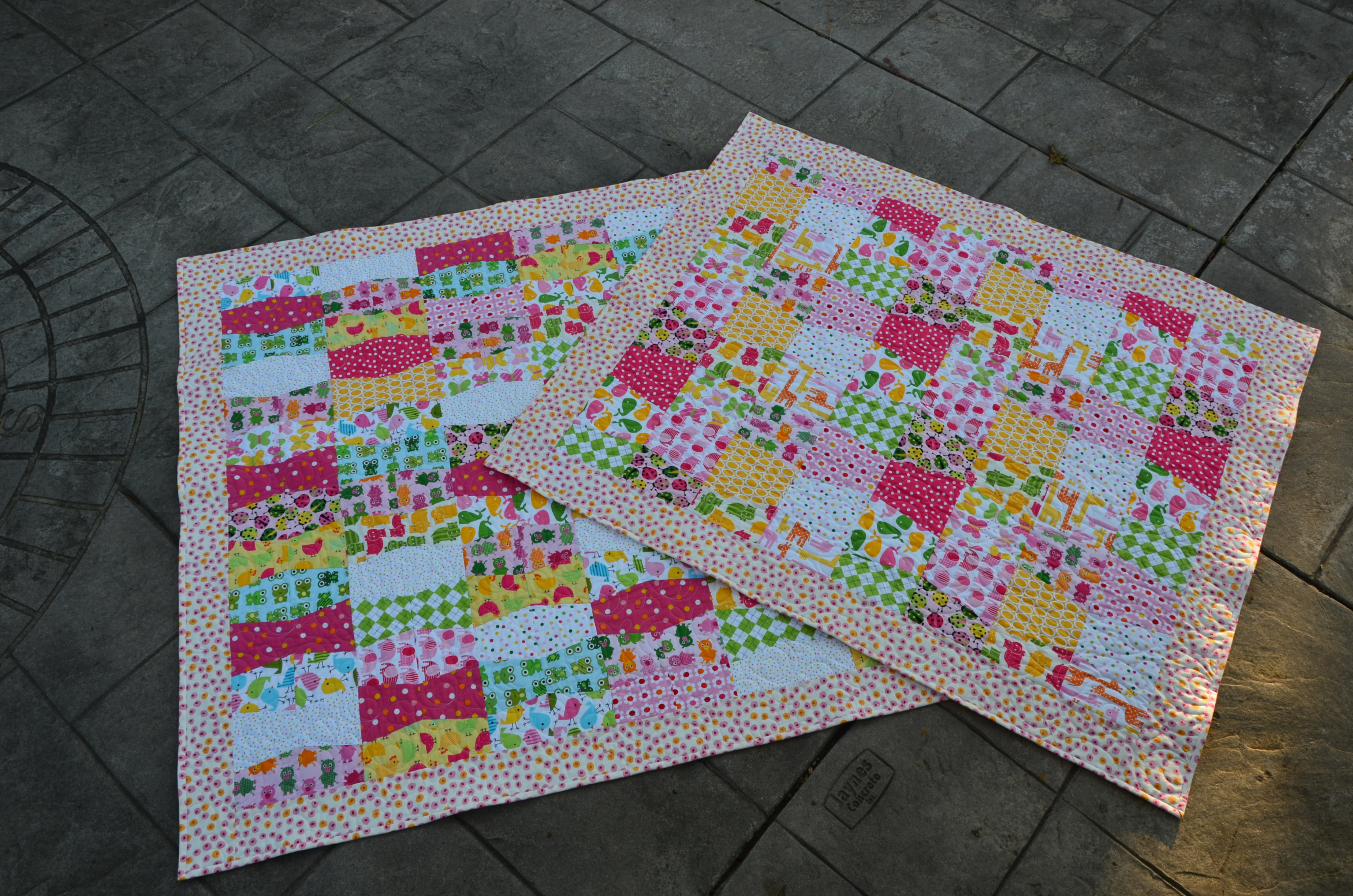 Tumbler Baby Quilts (1)